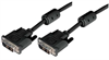 Deluxe DVI-D Single Link DVI Cable Male/Male w/Ferrites, 3.0 ft -- MDA00012-3F - Image