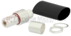 N Female (Jack) Bulkhead Connector For LMR-600 Cable, Crimp/Non-Solder Contact
