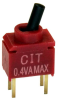 Toggle Switches -- 2449-CST10T2CR-ND - Image