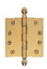 Extruded Brass Hinges -- LHBB3535