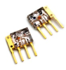 3,3 and 5V 25MBd MOST Receiver with digital out (ODIN Clear Mold Package) -- AFBR-2012