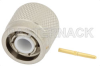TNC Male Connector Solder Attachment For PE-047SR, PE-SR047AL, PE-SR047FL -- PE4975 -Image