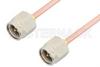 SMA Male to SMA Male Cable 36 Inch Length Using RG405 Coax -- PE3818-36 -Image