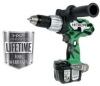 HITACHI 14.4 V Lithium Ion Cordless Hammer Drill -- Model# DV14DL