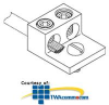 Chatsworth Products One Mounting Hole Ground Terminal Block -- 08009