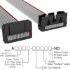 Rectangular Cable Assemblies -- A3BRB-1606G-ND -Image