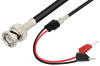 BNC Male to Tip Plug Cable 36 Inch Length Using RG58 Coax -- PE33009-36 -Image