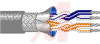 Cable, Multipair; 24 AWG; 7x32; Foil Braid Shield; PVC Ins.; 2 PAIRS -- 70005604 - Image