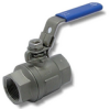 Stainless Steel Ball Valve -- s. 130 Stainless Steel - Image