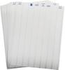 Brady B-410 White Polyolefin Laser Printable Label - 0.8 in Width - 1/4 in Height - LAT-4-410-10 -- 662820-29760
