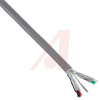 Cable; 2; 22 AWG; 7/30; Aluminum/Polyester; 0.16 in.; 0.008 in.; 0.019 in.; PVC -- 70139673 - Image