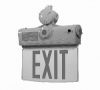 HLEX Series Hazardous Location Edge Lit LED Exit Sign - Image