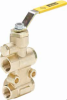 Brass Ball Valves Series 600 Six Port Diversion -- Six Port Diversion Brass Valve XV633P