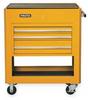 utility Cart,39 1/2Wx23D,3 Drawer,Yellow -- 3LVT6