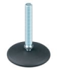 Stud Mount Leveling Feet - Plastic Swivel Base -- AFM1100A -- View Larger Image