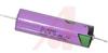 Battery; Lithium; 3.6 V; 2.4 Ah @ 2 mA;-55 degC; 85 degC; 8 cc; Axial Pin; 17 -- 70102890