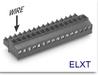 Pluggable Terminal Block -- ELXT Series Mini-Plug -- View Larger Image
