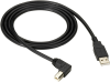 USB 2.0 Cable Type A Male to Type B Male (Right-Angle) 4-ft. -- USBR09-0004 -- View Larger Image