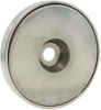 Neo Round Base Magnet - Nickel Coated