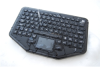 Bluetooth® Wireless Industrial Keyboard with Touchpad -- BT-87-TP