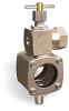 Pressure Compensated Adjustable Constant Flow Control Valve with Sight Chamber, 1/4