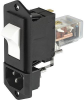IEC Appliance Inlet C14 with Circuit Breaker TA45 -- 6145 - Image