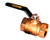 2-Piece, Full Port, Lead Free* Bronze Ball Valve -- LFFBV