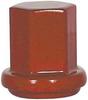 Battery Stud Nut,3/8-16,Red,PK 10 -- 5LMU6