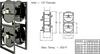 Stack Frame Hose Reel -- SFM 25-5