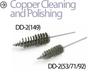 Detroit Diesel Overhaul Automotive Brushes -- DD-2 (53/71/92)