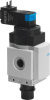 Shut off valve -- MS6N-EE-1/2-V110 -Image