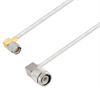 SMA Male Right Angle to TNC Male Right Angle Cable Assembly using LC141TB Coax, 5 FT -- LCCA30427-FT5 -Image