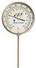 31090T016G4DM - Digi-Sense Dampened Bottom-Con Bimetal Thermometer, 3