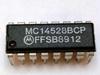 ON SEMICONDUCTOR MC14528BCPG ( IC, MONO MULTIVIBRATOR, 240NS, DIP-16; MULTIVIBRATOR TYPE:RETRIGGERABLE MONOSTABLE; OUTPUT CURRENT:8.8MA; PROPAGATION DELAY:240NS; LOGIC CASE STYLE:DI ) -Image