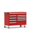 """R Mobile Multi-Drawers Cabinet with Partitions 9 Drawers (54""""W x 27""""D x 41 1/2""""H) -- R5GJG-3401 -- View Larger Image"""