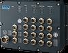 EN 50155 16-port Full Gigabit Managed Ethernet Switch with PoE/PoE+ -- EKI-9516P-HV -Image