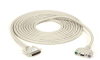 50FT KVM User Cable DB25 VGA PS2 With Audio Coax -- EHN383A-0050 -- View Larger Image