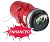 Multispectrum Infrared Flame Detector -- Model X3301 - Image