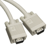 5FT Male/Male Premium VGA Video Extension Cable PVC -- EVNPS05-0005-MM - Image