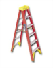 EXTRA HEAVY DUTY FIBERGLASS STEPLADDER -- H6210