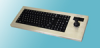 KIF9000 Series NEMA 4X Sealed Industrial Keyboard with Industrial Mouse™