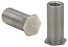 Blind Threaded Standoffs - Types BSO, BSOA, BSOS - Metric -- BSO-M3-12ZI -- View Larger Image