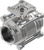 Ball valve -- VZBE-2-T-63-T-2-F0507-V15V15 -- View Larger Image