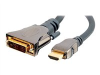 Impact Acoustics SonicWave HDMI to DVI DIGITAL VIDEO INTERCONNECT - video cable - 23 ft -- 40291