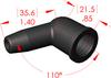 Angle Boot Insulator -- 16136 - Image