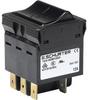 Circuit Breaker for Equipment thermal, Rocker actuation, 3 poles -- TA35 Rocker 3Pole