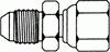 JIC Swivel Extender -- 6504-04-04 - Image