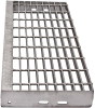 Grating Stair Treads -- Stainless Steel