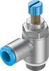 One-way flow control valve -- GRLA-1/2-QS-12-RS-D -- View Larger Image