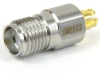SMA Female (Jack) to SMP Female (Jack) Adapter, Passivated Stainless Steel Body, 1.2 VSWR -- SM8802 - Image
